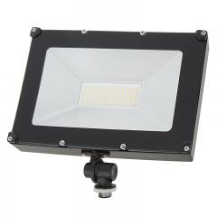 50 Watt Knuckle-Mount LED Flood Light - 6,000 Lumens - 100 Watt MH Equivalent - 5000K/4000K/3000K