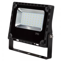 30 Watt LED Flood Light Fixture - 5000K/4000K - 100 Watt MH Equivalent - 3,600 Lumens