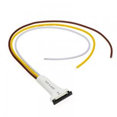 3 Contact 10mm Flexible Light Strip Pigtail Connector for VCT Strips - NFLS10-3CPT