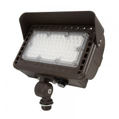 29W LED Flag Light with Photocell - 30° Beam - Landscape Spotlight - 5000K