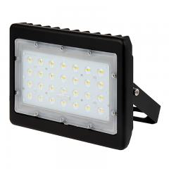 50W LED Flood Light - 150W Metal Halide Equivalent - 5800 Lumens - 5000K/4000K