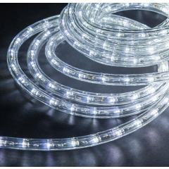 18ft LED Rope Light Kit - Flexible Integrated LED Rope Light - 120V - IP65 - Cool White 6000K