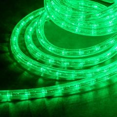 18ft LED Rope Light Kit - Flexible Integrated LED Rope Light - 120V - IP65 - Green