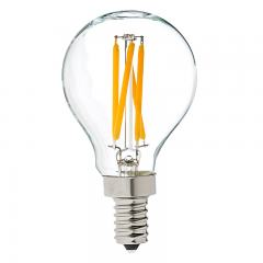 G14 LED Filament Bulb - 40 Watt Equivalent LED Candelabra Bulb - Dimmable - 370 Lumens