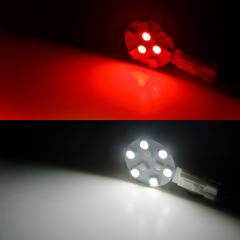 G4 LED Bulb - 15 Watt Equivalent - 12V AC/DC - Dual Color Bi-Pin LED Disc - 130 Lumens