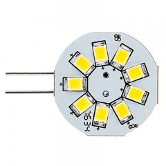 G4 LED Boat and RV Light Bulb - 9 SMD LED - Bi-Pin LED Disc - 170 Lumens