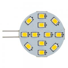 G4 LED Bulb - 2 Watt (20 Watt Equivalent) Bi-Pin LED Disc - 240 Lumens