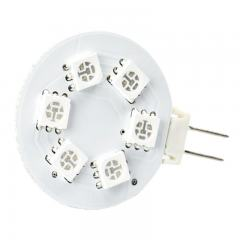 G4 LED Bulb - 1 Watt (20 Watt Equivalent) - 12V AC/DC - Bi-Pin LED Disc - Color Changing LED Bulb