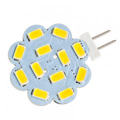 G4 LED Bulb - 40 Watt Equivalent - 12V AC/DC - Bi-Pin LED Disc - 390 Lumens