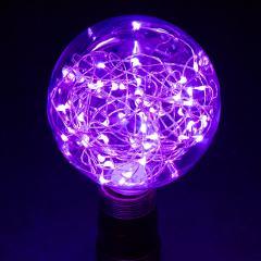 G30/G95 LED Fairy Light Bulbs - 10 Watt Equivalent - 65 Lumens