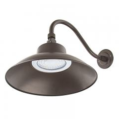 42W LED Gooseneck Barn Light - Swivel Head - 4000 Lumens