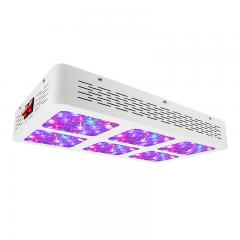 390W Full-Spectrum LED Grow Light - 12-Band Multi Spectrum - Selectable Vegetation and Bloom Switches
