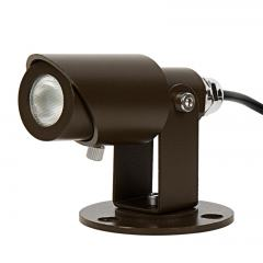 3 Watt LED Landscape Spot Light in Brown Aluminum Housing