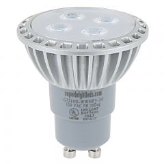GU10 LED Bulb - 35W Equivalent - 120V AC - Bi-Pin LED Spotlight Bulb - 312 Lumens