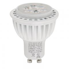 GU10 LED Bulb - 60 Watt Equivalent - 120V AC - Dimmable Bi-Pin Bulb - 550 Lumens