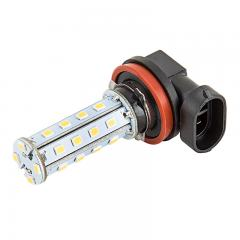 H11 LED Fog Light/Daytime Running Light Bulb - 28 SMD LED Tower