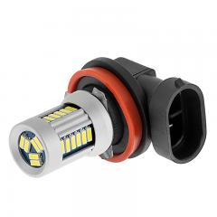 H11 Can Bus LED Fog Light/Daytime Running Light Bulb - 28 SMD LED Tower