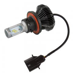 Motorcycle H13 LED Fanless Headlight Conversion Kit with Internal Driver - 2,000 Lumens