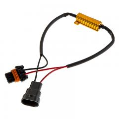 Motorcycle Headlight Load Resistor - 9005 LED Headlight Bulbs - 9005 Connection Load Resistor