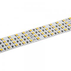 Custom Length White  LED Strip Light - Highlight Series LED Tape Light - High-CRI Quad Row - 24V - IP20 - 1,317 lm/ft