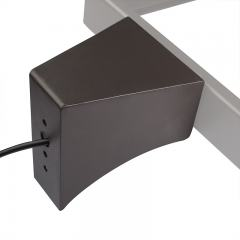 Square Pole Mount with Fixed Arm - HPAL and HPAL2 Area Lights