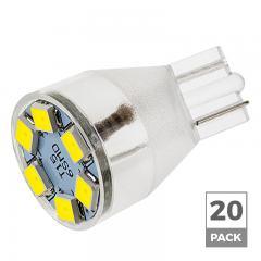 921 LED Landscape Light Bulb - 6 LED Forward Firing Miniature Wedge Retrofit - 100 Lumens