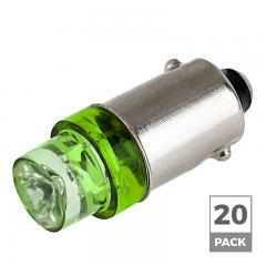BA9s LED Landscape Light Bulb - 1 LED - BA9s Retrofit - 4 Lumens