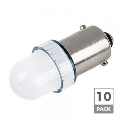 BA9s LED Landscape Light Bulb - 1 LED - BA9s Retrofit - 5 Lumens