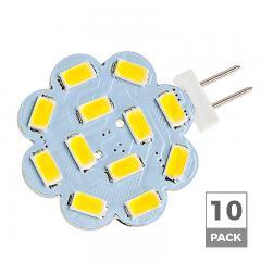 G4 LED Landscape Light Bulb - 40W Equivalent - Bi-Pin LED Disc - 390 Lumens