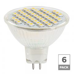 MR16 LED Bulb - 40 Watt Equivalent - 12V AC/DC - Bi-Pin LED Flood Light Bulb - 300 Lumens