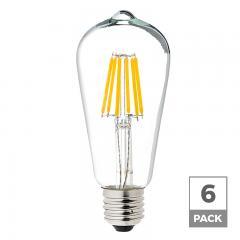 ST18 LED Filament Bulb - 40 Watt Equivalent Vintage Light Bulb - 12V DC - 350 Lumens