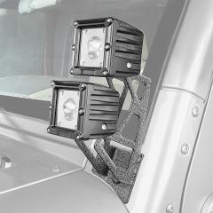 Jeep Wrangler JK Dual A-Pillar Mount Kit