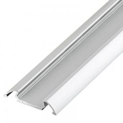 Angled Surface Mount Aluminum Profile Housing for LED Strip Lights - KLUS STOS-ALU Series