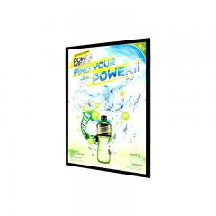 11in x 14in - Black Aluminum Snap Open Frame - Dimmable - Ultra Thin LED Light Box With Custom Artwork