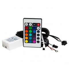RGB Controller for RGB LED Halo Headlight Accent Lights with IR Remote