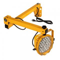 60W LED Dock Light - Adjustable Steel Mounting Arm - 6600 Lumens - 5000K
