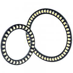 LED Halo Headlight Accent Lights - Black Circuit Board