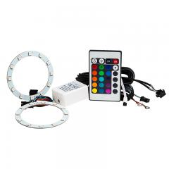 RGB LED Halo Headlight Accent Light Kit