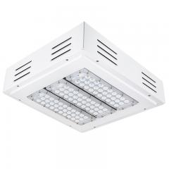 LED Canopy Lights - 150W - 5000K - Flush/Surface Mount - Square LED Beam Pattern - 400W MH Equivalent - 17,000 Lumens