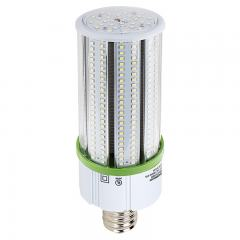 60W LED Corn Bulb - 7,100 Lumens - 175W Equivalent Metal Halide - E39 Mogul Base - 5000K