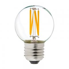 G16.5 LED Filament Bulb - 40 Watt Equivalent Globe Bulb - Dimmable - 285 Lumens