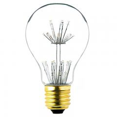 A19 Decorative Fireworks LED Light Bulb - Dimmable - 15W Equivalent - 68 Lumens
