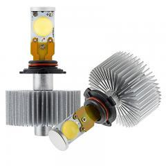 LED Headlight Kit - HB4 (9006) LED Headlight Bulbs Conversion Kit with Radial Heat Sink
