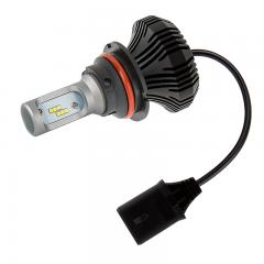 Motorcycle 9007 LED Fanless Headlight Conversion Kit with Internal Driver - 2,000 lumens