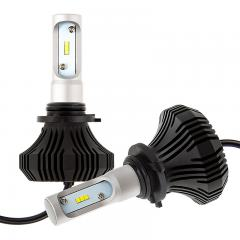 9006 LED Fanless Headlight/Fog Light Conversion Kit with Internal Drivers - 4,000 Lumens/Set