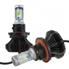 H13 LED Fanless Headlight Conversion Kit with Internal Drivers - 4,000 Lumens/Set