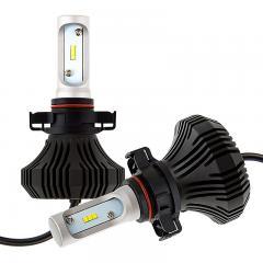 PSX24W LED Fanless Headlight/Fog Light Conversion Kit with Internal Drivers - 4,000 Lumens/Set
