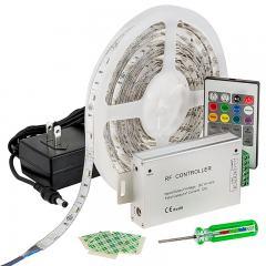 RGB LED Strip Light Kit - 12V LED Tape Light - 122 Lumens/ft.