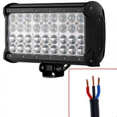 "9"" Quad-Row Off-Road LED Light Bar w/ Multi Beam Technology - 85W - 7,560 Lumens"