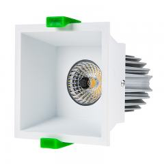 LED Recessed Light Engine w/ Square 90mm White Reflector - 75 Watt Equivalent